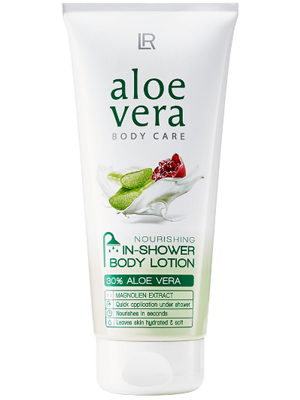 Aloe Vera Nourishing In-Shower Lotion.