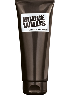 Bruce Willis Hair & Body shampoo.
