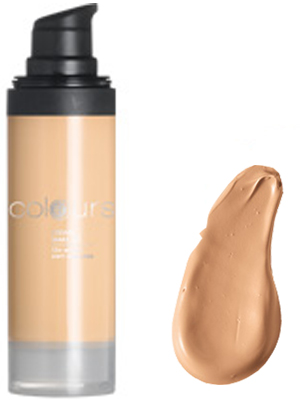 Foundation Cream Nr.4 Medium Caramel.
