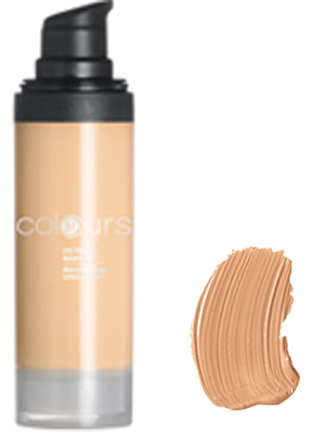 Foundation Oilfree Nr.3 Light Caramel.