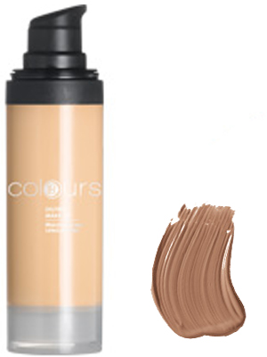 Foundation Oilfree Nr.6 Dark Caramel.