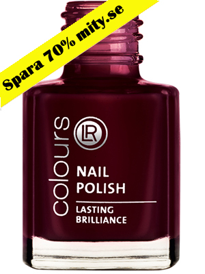 Nagellack Nr.6 Brilliant Bordeaux.
